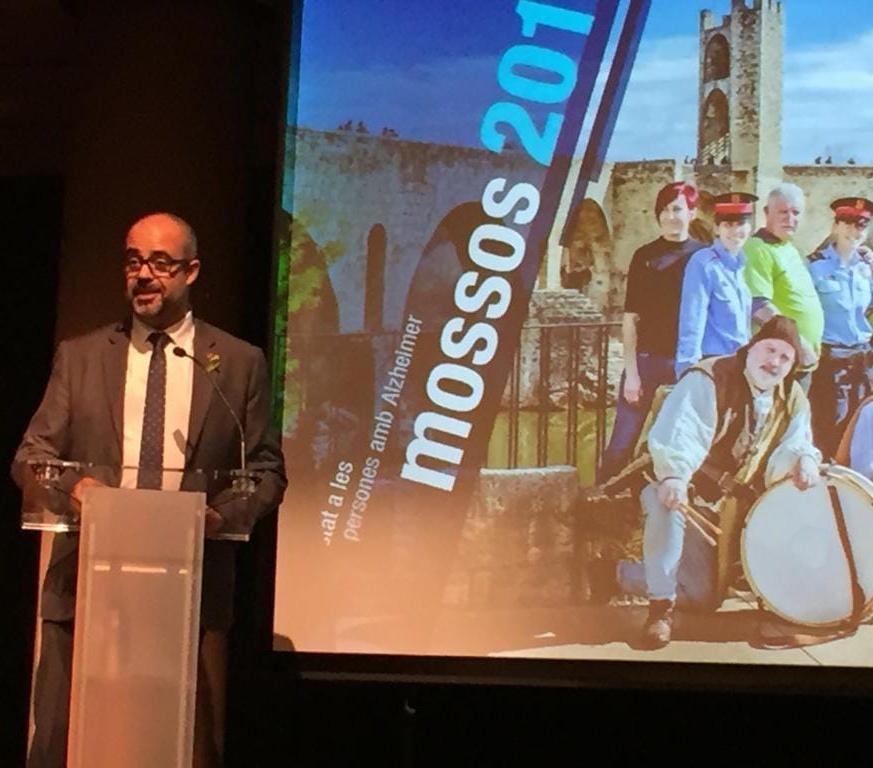 """Presentació del """"Calendari Solidari 2019"""" dels Mossos d'Esquadra"""