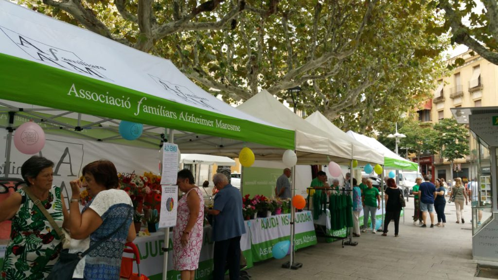 Hem celebrat el Dia Mundial de l'Alzheimer