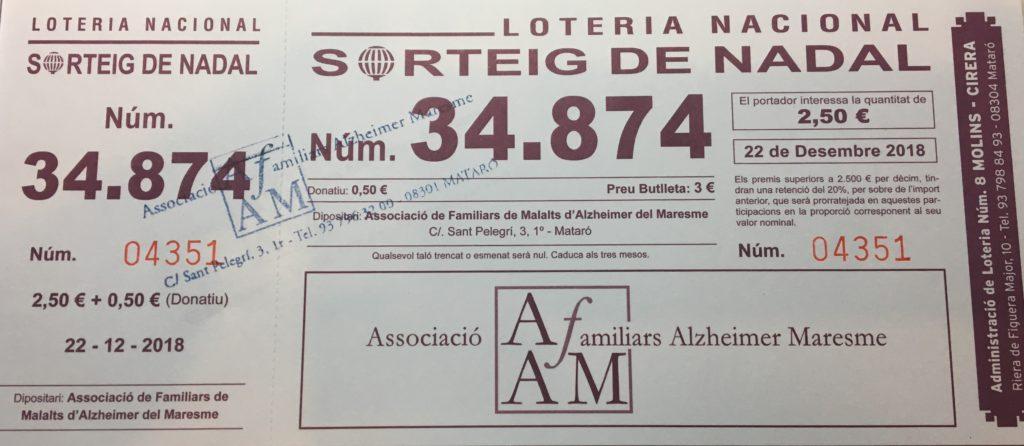 Loteria d'AFAM