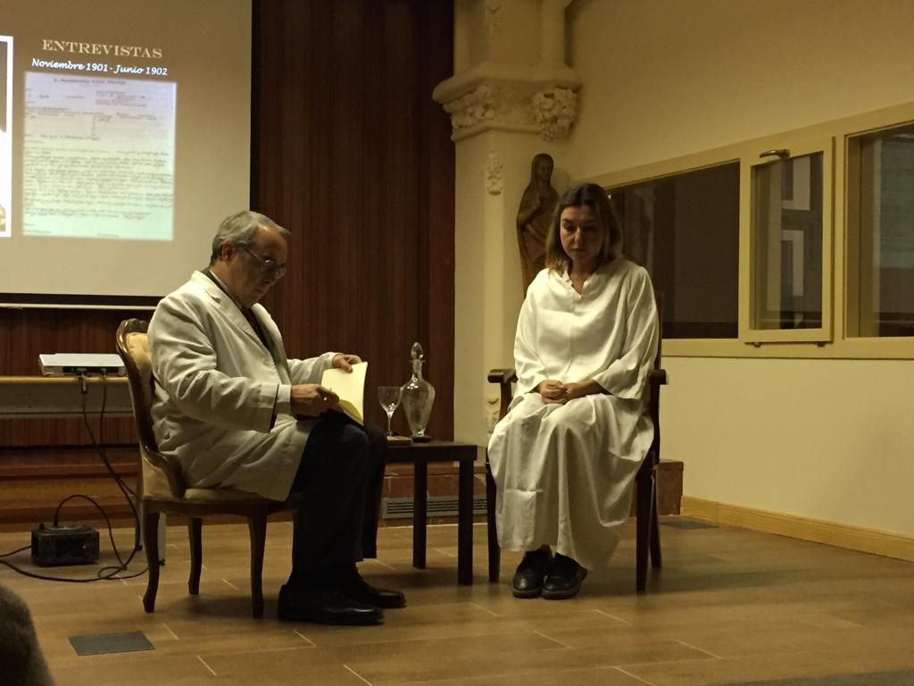 """""""El corazón no olvida"""", la conferència teatralitzada d'Incite"""