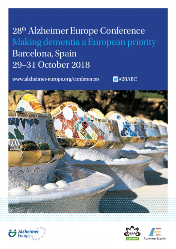 Se celebra a Barcelona el 28th Alzheimer Europe Conference