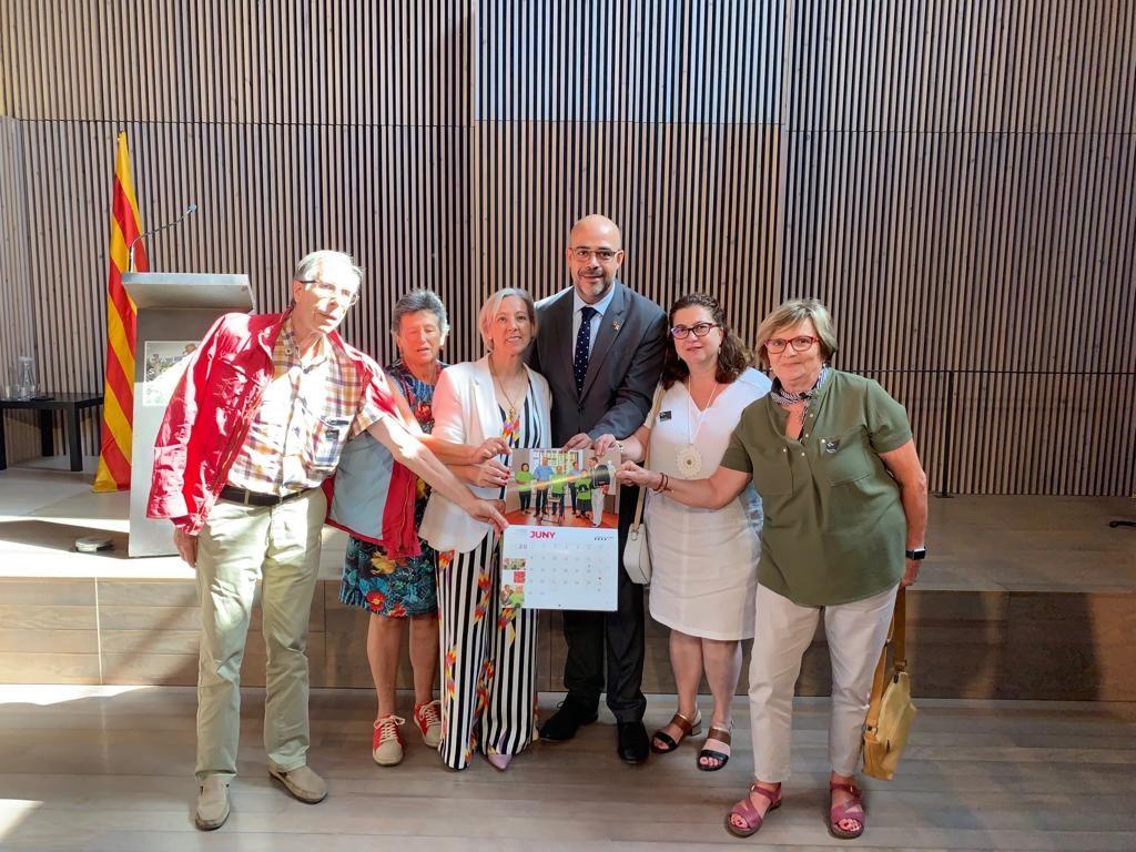 Presentació del Calendari Solidari 2020 dels Mossos d'Esquadra.
