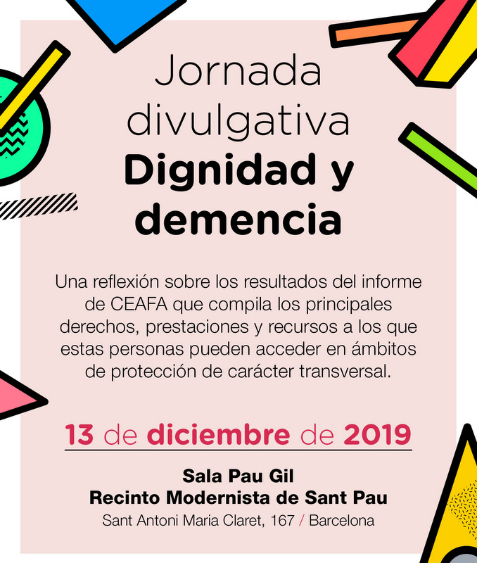 """CEAFA organitza la jornada divulgativa: """"Dignidad y demencia""""."""