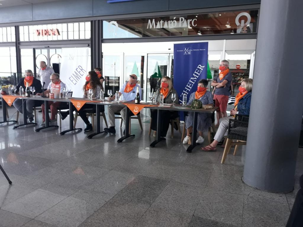 """L'AFAM a la presentació de la Caminada """"Mataró camina per l'Alzheimer 2020"""""""