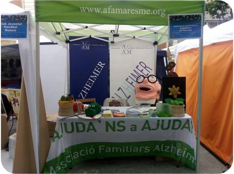 L'AFAM participa en la VII Mostra d'Entitats de Mataró